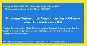 Diploma Superior de Comunicación y Género