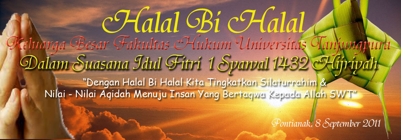 Spanduk Halal Bihalal Idul Fitri | Joy Studio Design Gallery - Best ...
