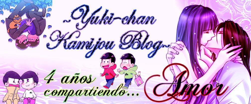 ~ Yuki-chan Kamijou Blog ~