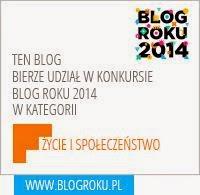 Konkurs Blog Roku 2014