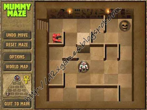 Free Download Games - Mummy Maze Deluxe