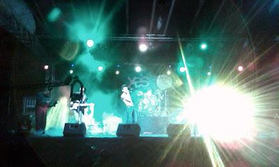 The Dizzy Brains at the Libertalia Music Festival
