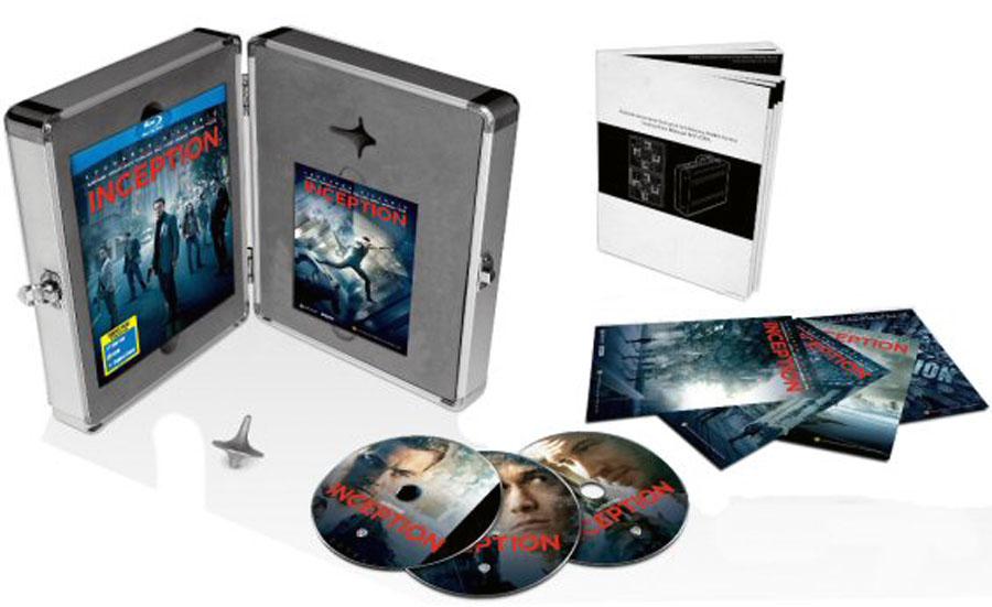 Inception Blu-ray Case
