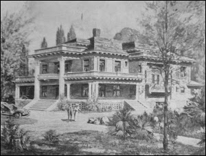 Historic James Moore Mansion 1903