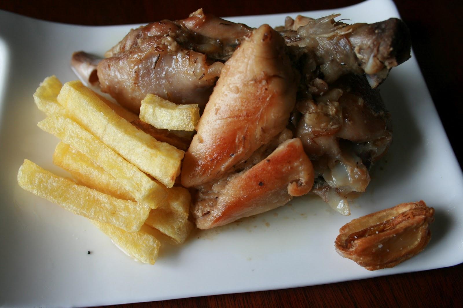 Aprendiendo a cocinar pollo al ajillo - Cocinar pollo al ajillo ...