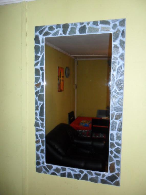 Espejos r sticos de piedra ornamental - Espejos rusticos ...