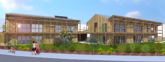 Association pour la promotion de nouvelles formes d'habitat à Guerande
