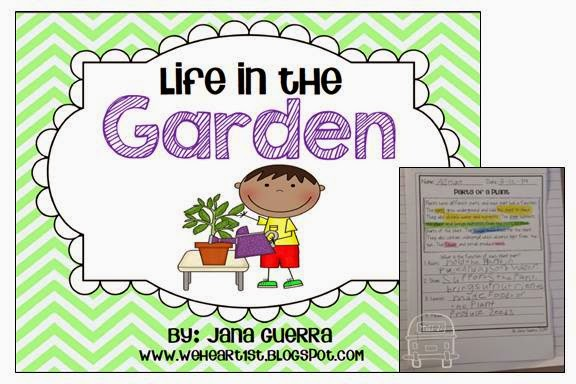 http://www.teacherspayteachers.com/Product/Life-in-the-Garden-Soil-Seeds-and-Plants-1151435