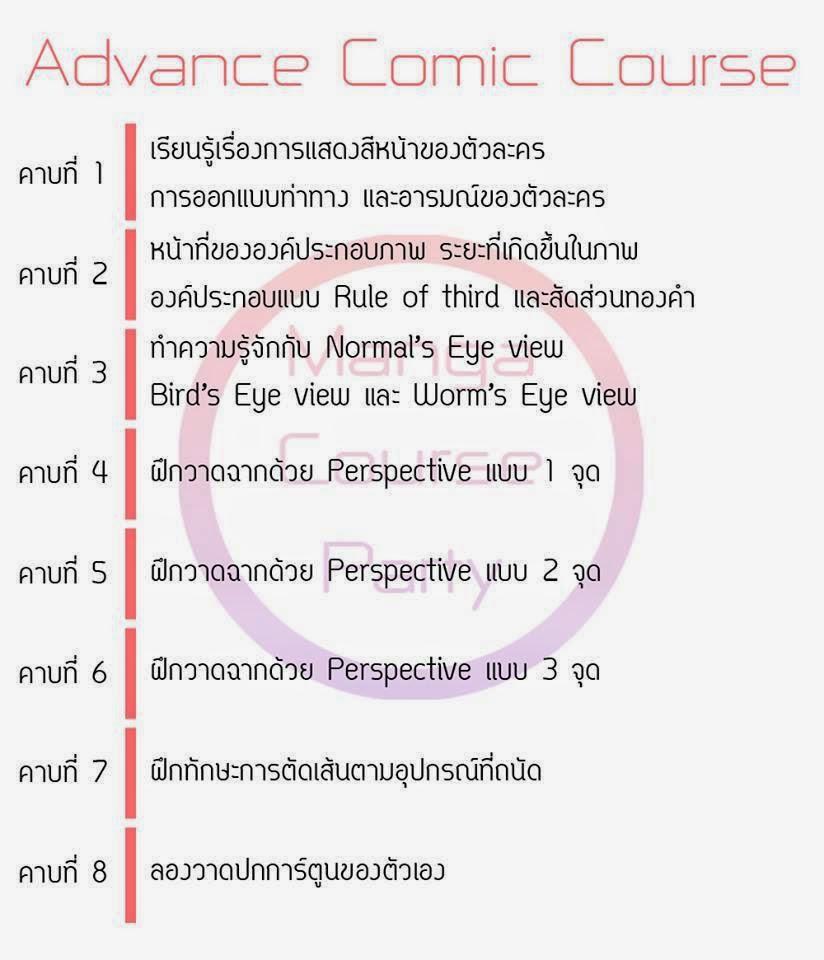 Advance Comic Course