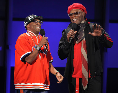 Spike Lee and Samuel L Jackson at BET Awards