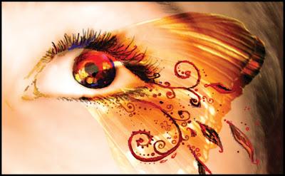Beautiful Brown Eye Butterfly Designs