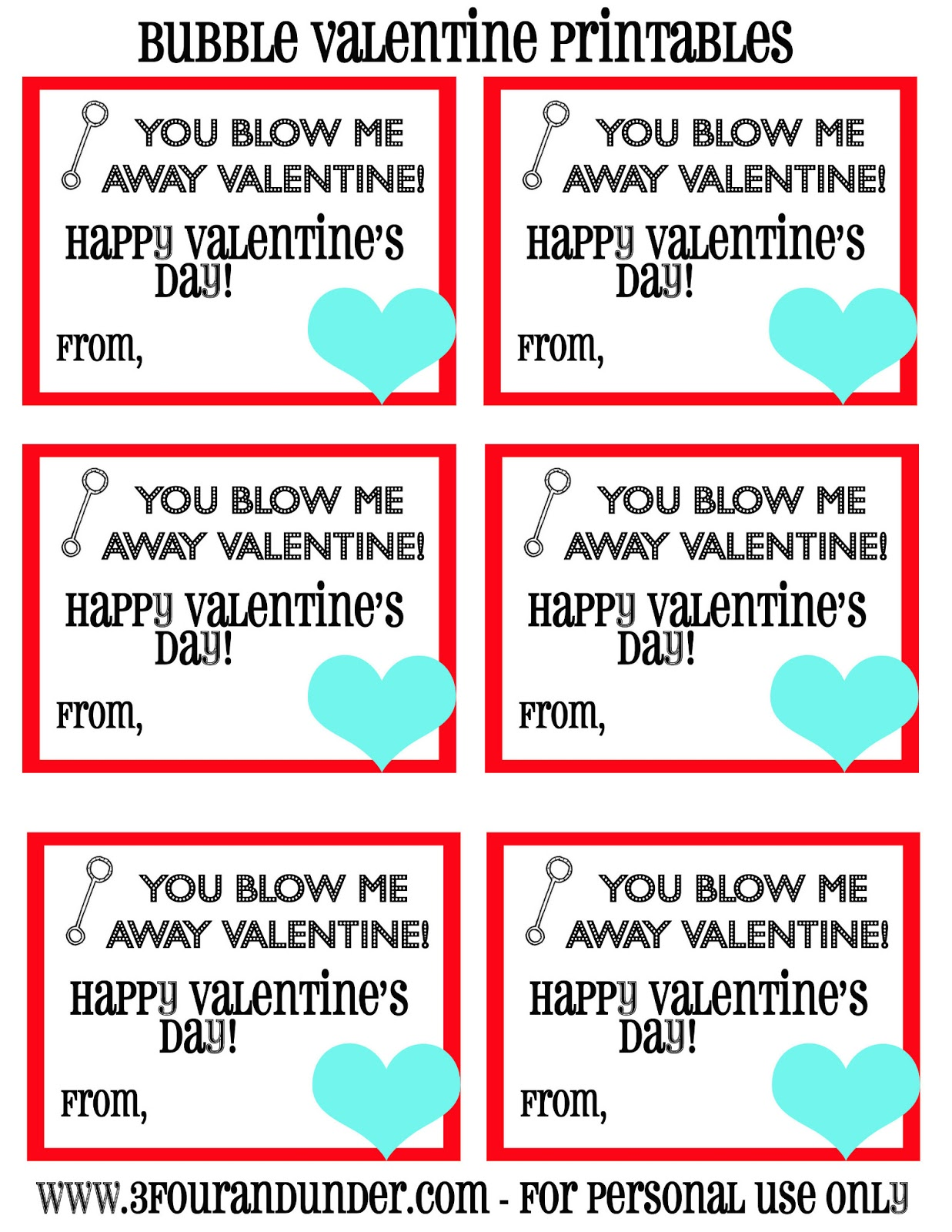 This is a graphic of Dynamic Bubble Valentine Printable