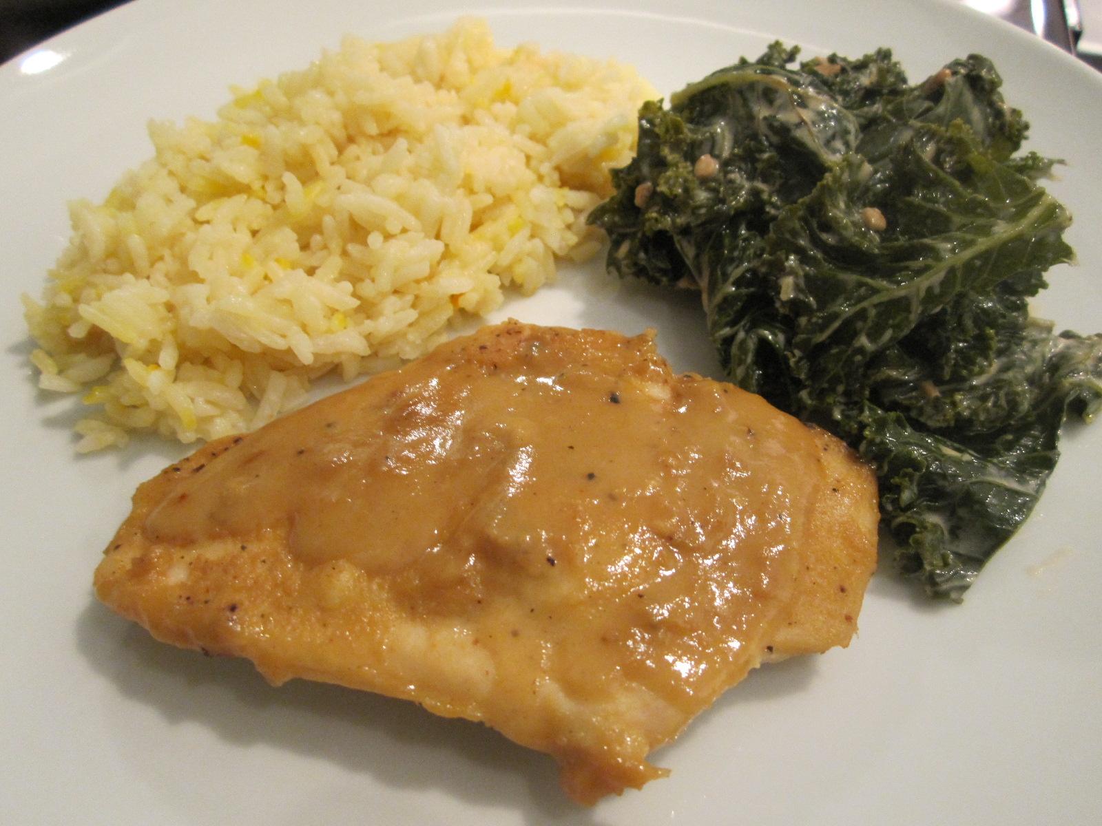 Sophie in the Kitchen: Mustard Maple Chicken