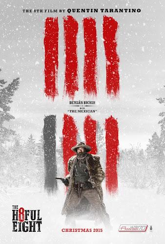 ตัวอย่างใหม่ : The Hateful Eight  (8 พิโรธ โกรธแล้วฆ่า) ซับไทย poster 4