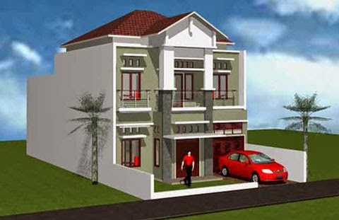 Contoh Desain Rumah Minimalis 07