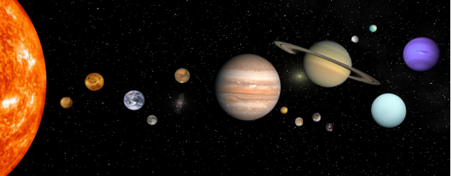 Images Of Solar System Map With Moons SpaceHero - Solar system map with moons