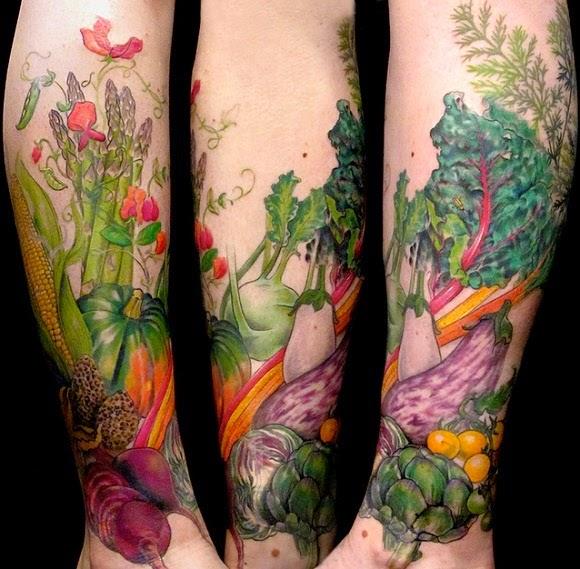 Vegan Tatuagem - Tattoo Vegan
