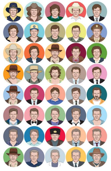 Las 40 de Harrison Ford