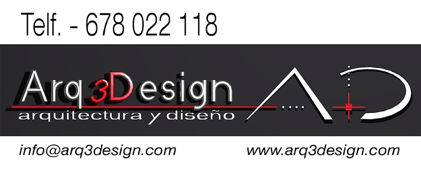 Diseño 3D Arq3design