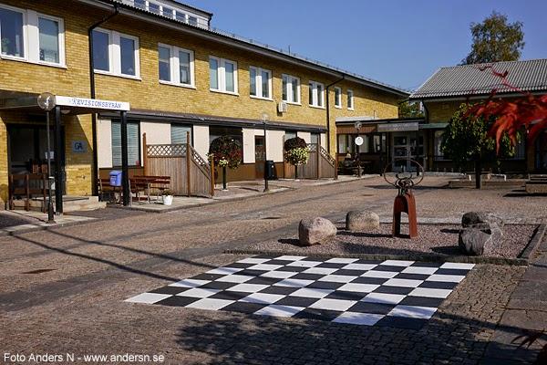 Hova, kommunhuset, kommunkontoret, Gullspångs kommun