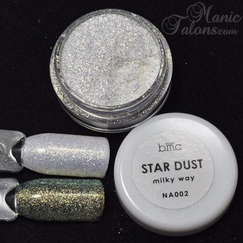 Bundle Monster BMC Stardust Pigment Milky Way Swatch