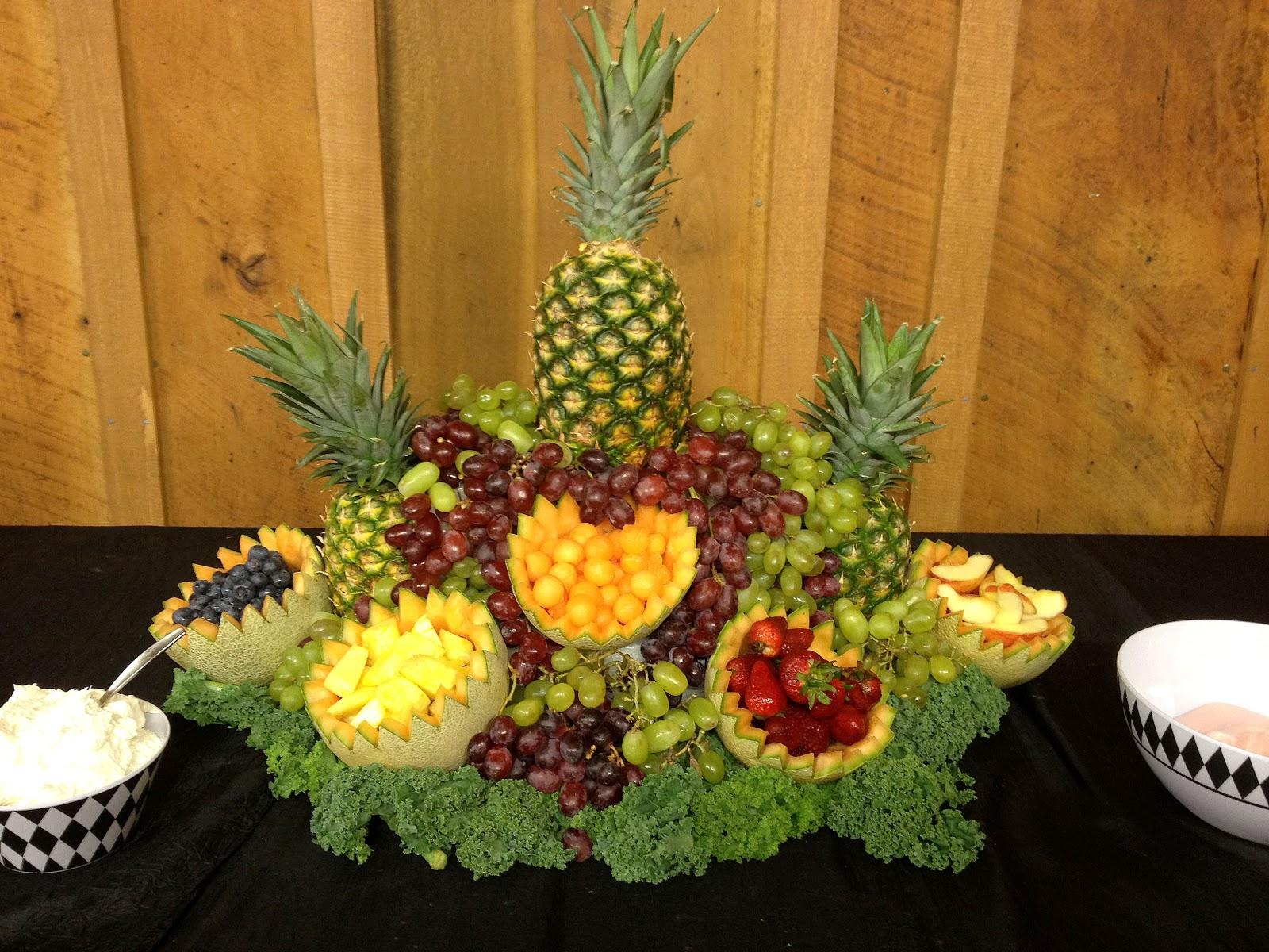 Fruit centerpieces cake ideas and designs