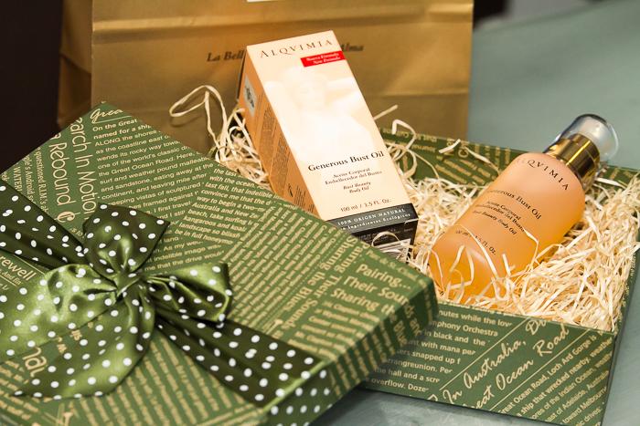 Idea caja de Regalo de navidad productos Alqvimia cosmetica natural
