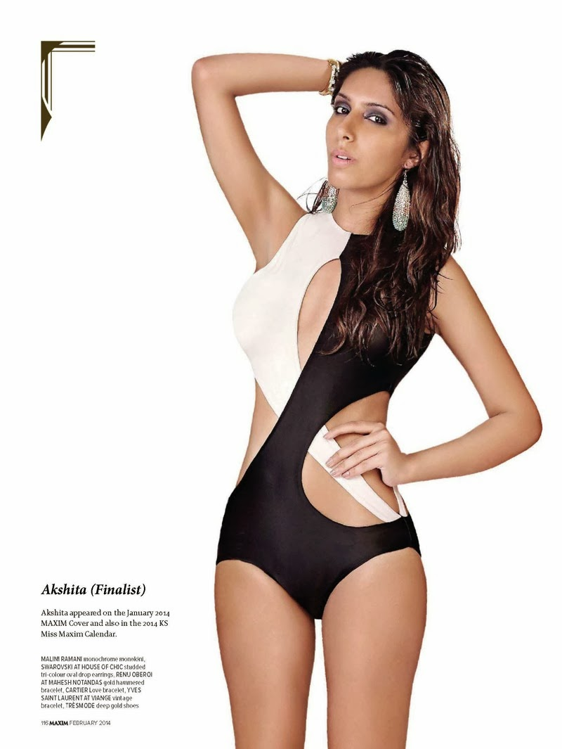Miss Maxim 2014 HQ Pictures Maxim India Magazine Photoshoot February 2014