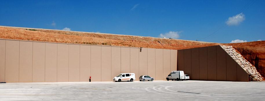 Muros de contencion muros de contenci n de hormig n semi prefabricados 3 - Muros de hormigon ...