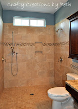 Wheelchair-Accessible Shower Bathroom