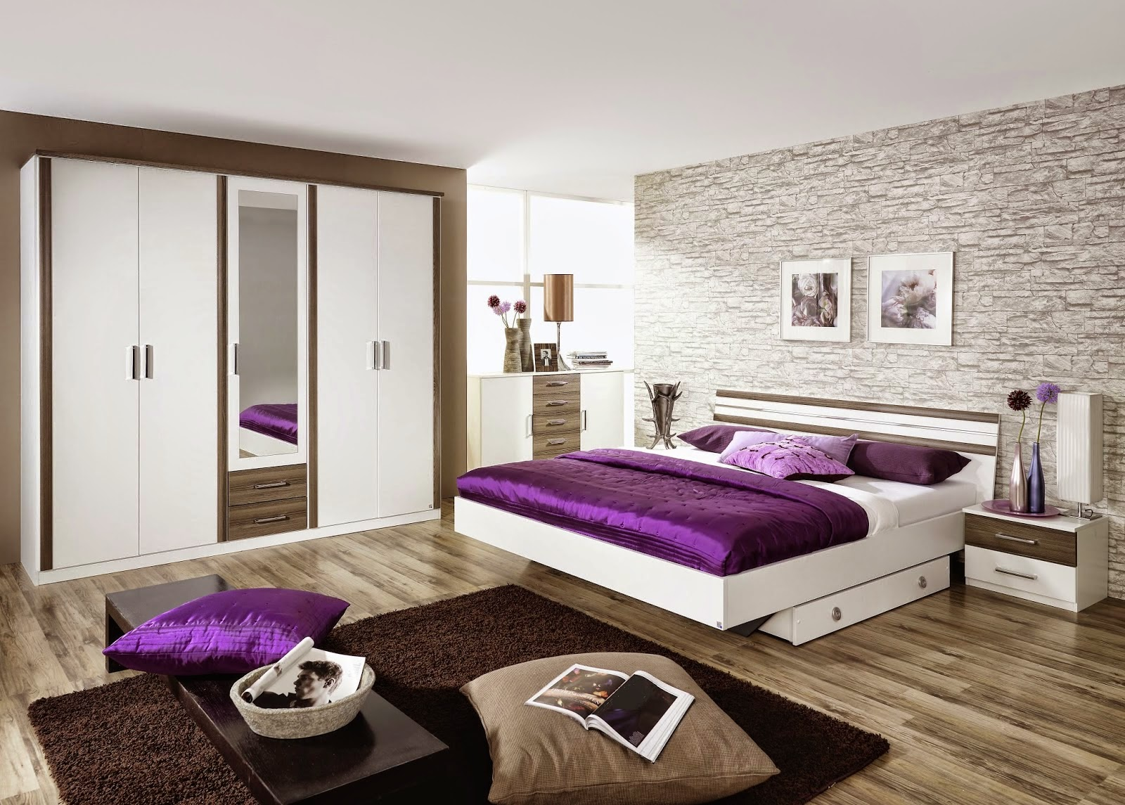 D co chambre mansardee adulte for Idee de chambre a coucher adulte