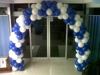dekorasi balon T