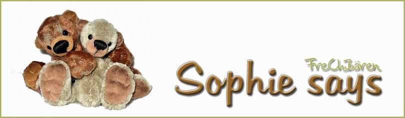 Sophie says