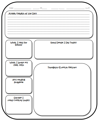 journal templates