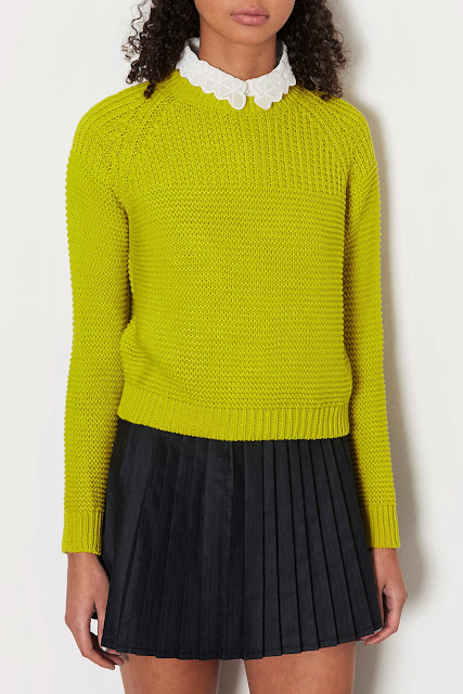 bright knit jumper