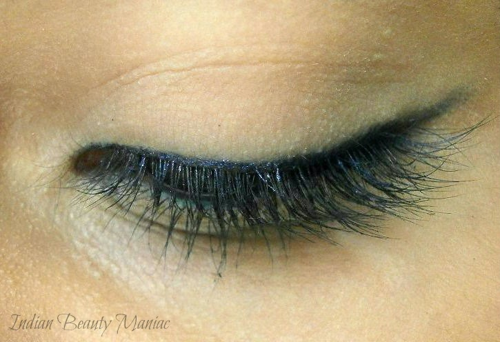 Blue and Green Simple festive Eye Makeup