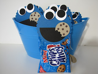 Cherylin 39 s creations cookie monster elmo punch art for Elmo arts and crafts