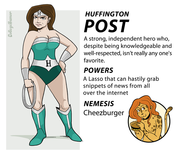 Huffington Post Superhero