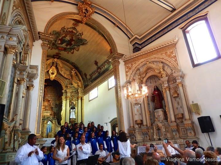 Sarau da Arte Miúda na Igreja São Francisco de Assis