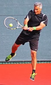 TONY BUJAN CAMPEON en +40  USTA NATIONAL ITF Seniors de La Jolla Beach California