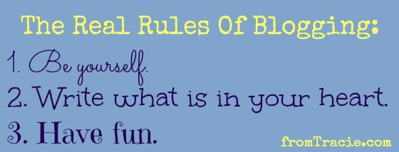 The Rules Of Blogging