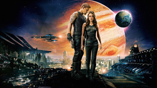 Channing Tatum y Mila-kunis en Jupiter Ascending