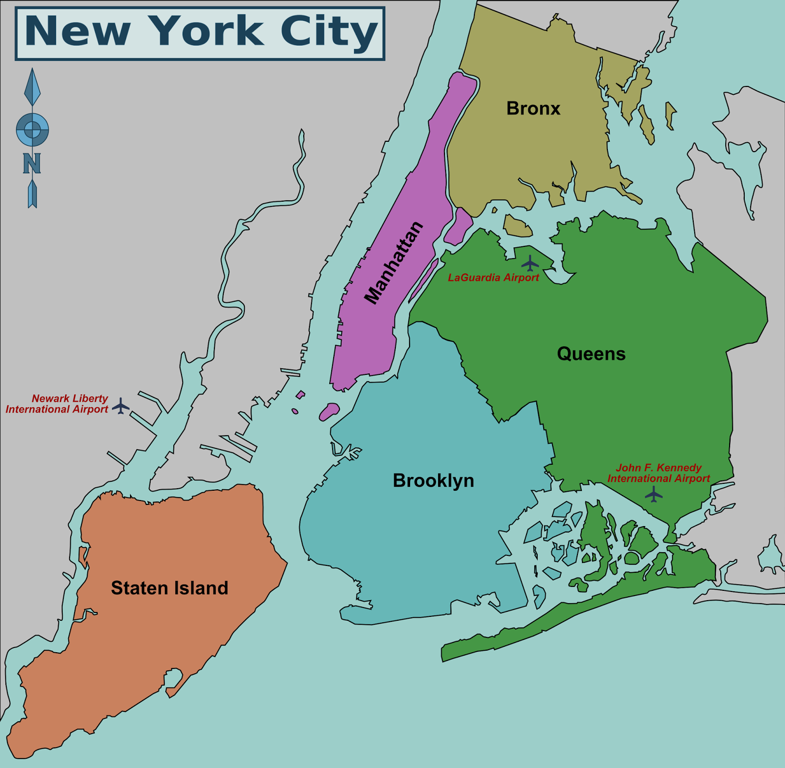 new york city district map png