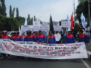 Di Kabupaten Pekalongan, 700 Buruh Di PHK
