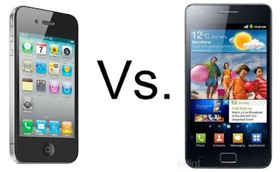 Samsung Galaxy S2 vs iPhone 4