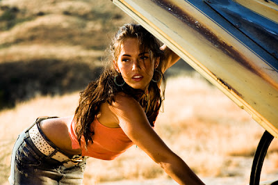 Megan Fox in Transformers (2007)