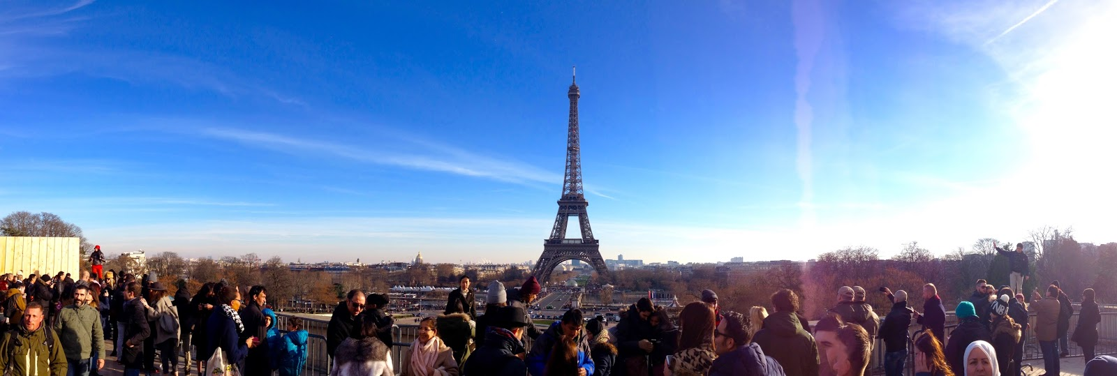 Jalan-Jalan di Paris - Eiffel Tower Panorama from Trocadero