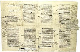 Le manuscrit Du côté de chez Swann annoté par Marcel Proust
