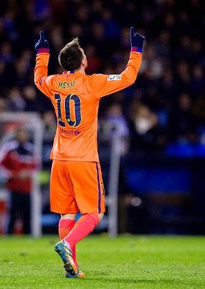 Kekuatan Messi Tak Pernah Pudar