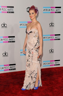 ama 2011 dress katy perry